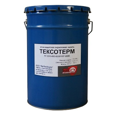 Огнезащитная краска Тексотерм (органика)